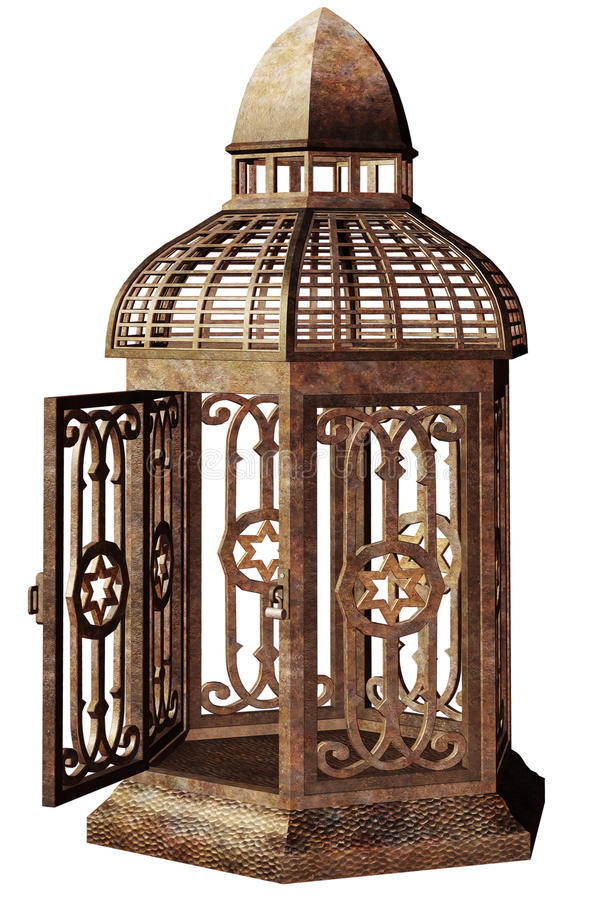 Download Steampunk cage stock illustration. Illustration of fantasy - 20132036
