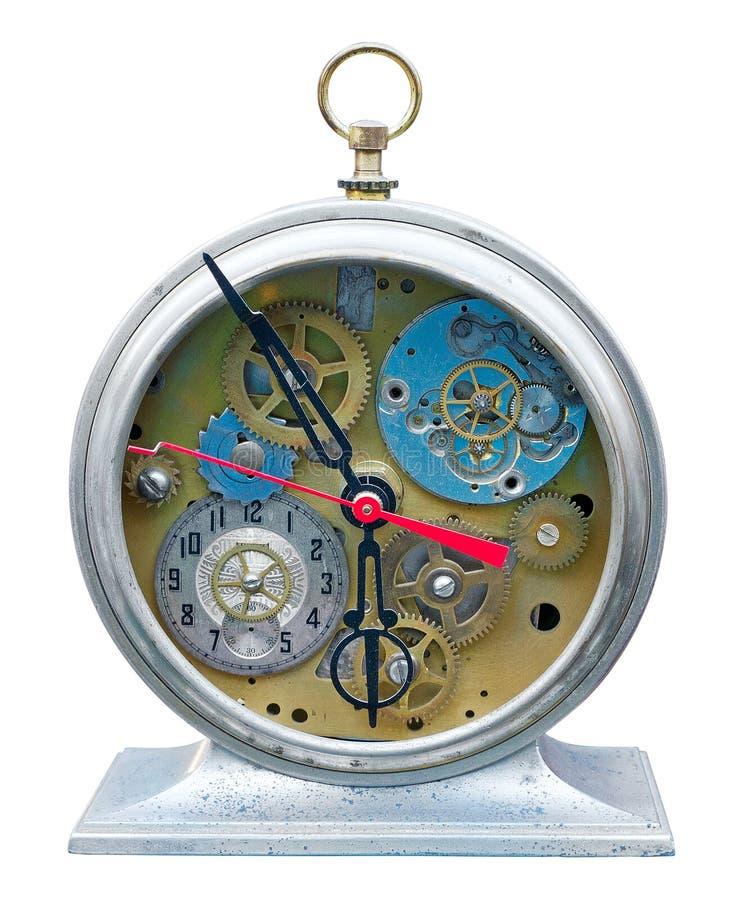 Steampunk clock royalty free stock photos