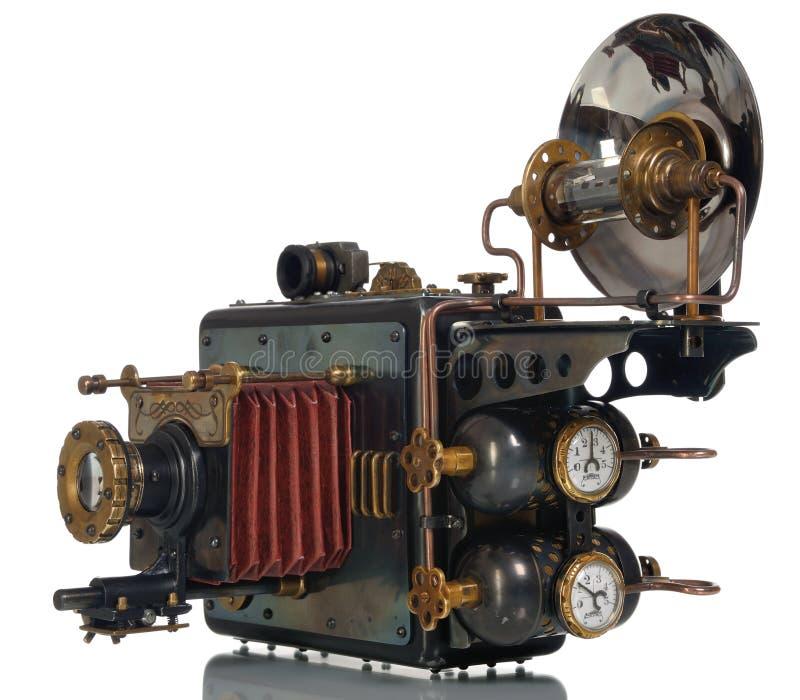 Steampunk de la cámara imagenes de archivo