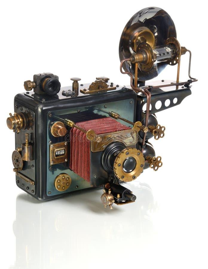Steampunk della macchina fotografica fotografia stock libera da diritti
