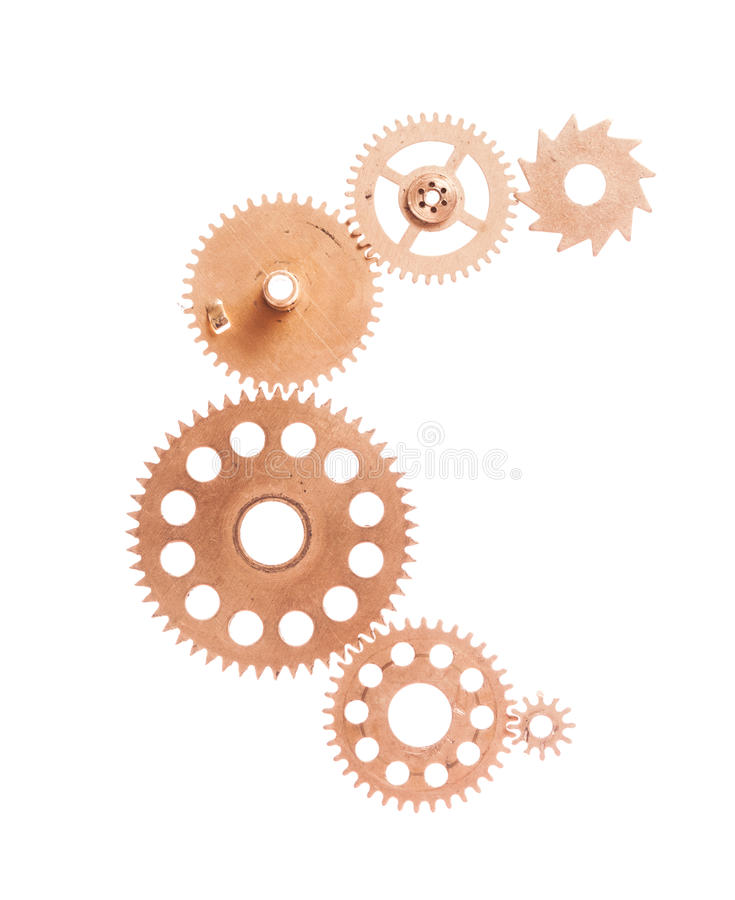 Steampunk device stock photography
