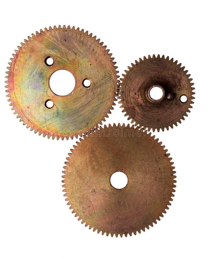 Steampunk device stock image