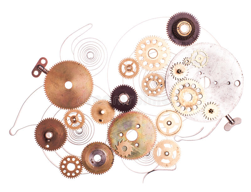 Steampunk device royalty free stock photography