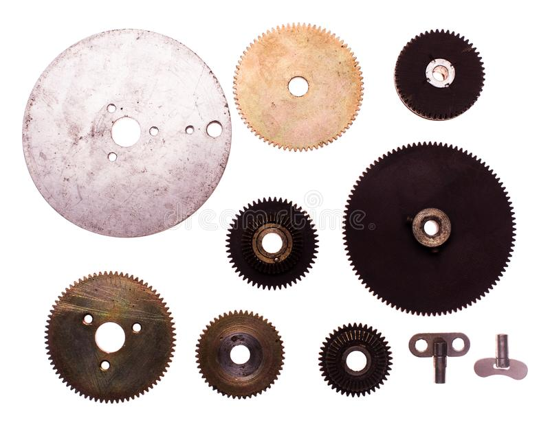 The Steampunk device royalty free stock photography