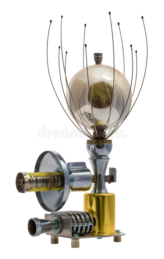 Steampunk device. royalty free stock image