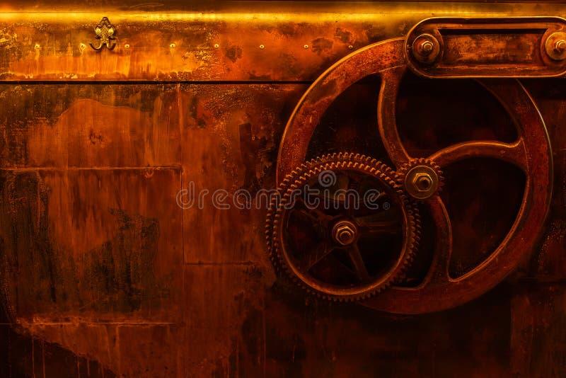 Steampunk do vintage do fundo imagens de stock royalty free
