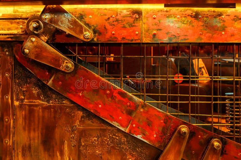 Steampunk do vintage do fundo imagem de stock royalty free