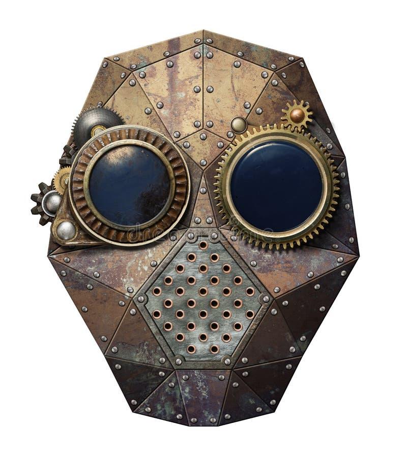 Steampunk exponeringsglas royaltyfri foto