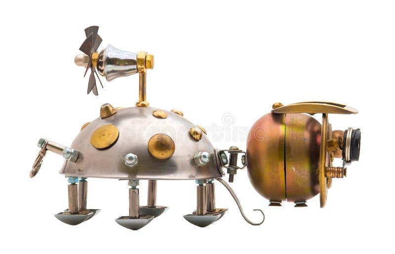 Steampunk-Käfer. stockbild