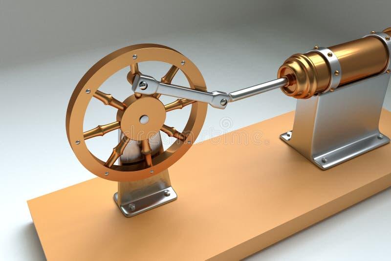 Steampunk-Maschine lizenzfreie stockbilder