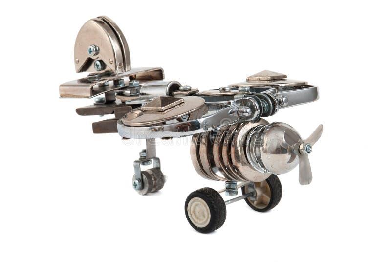 Steampunk plane. stock photography