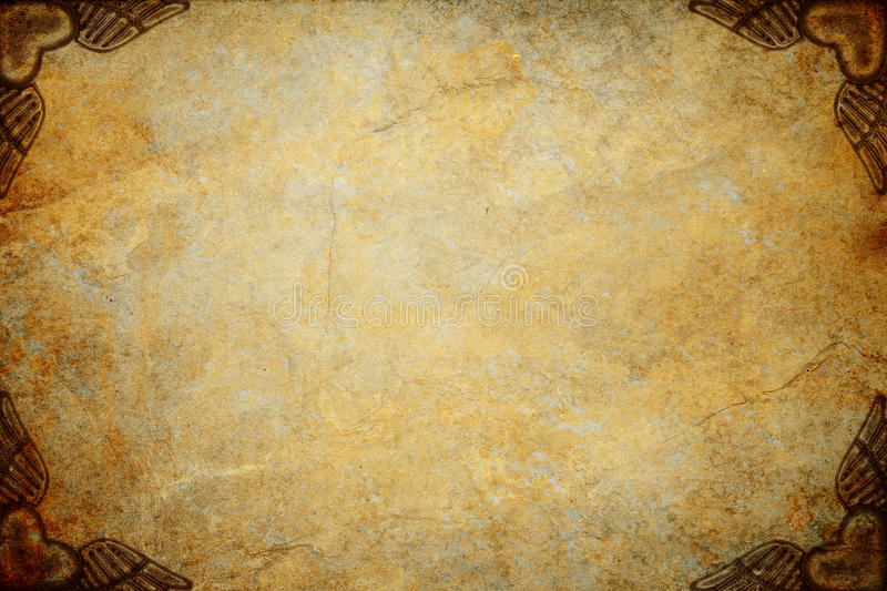 Steampunk Texture Background. Steampunk grunge textured background with steampunk elements stock photography