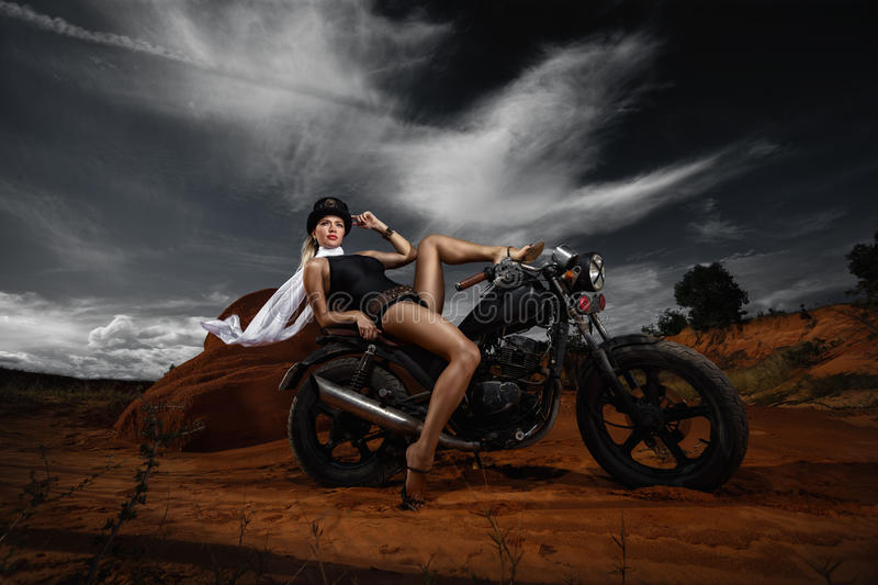 Steampunk Woman royalty free stock photography