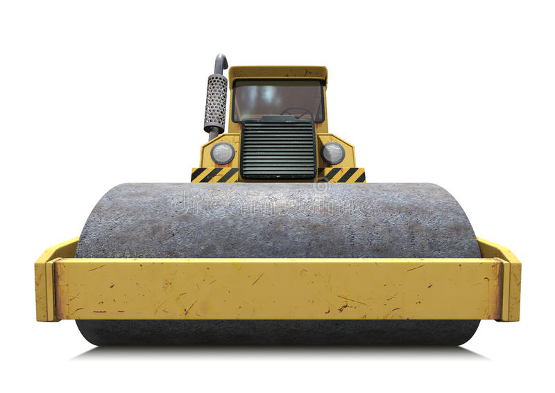 steamroller иллюстрация вектора