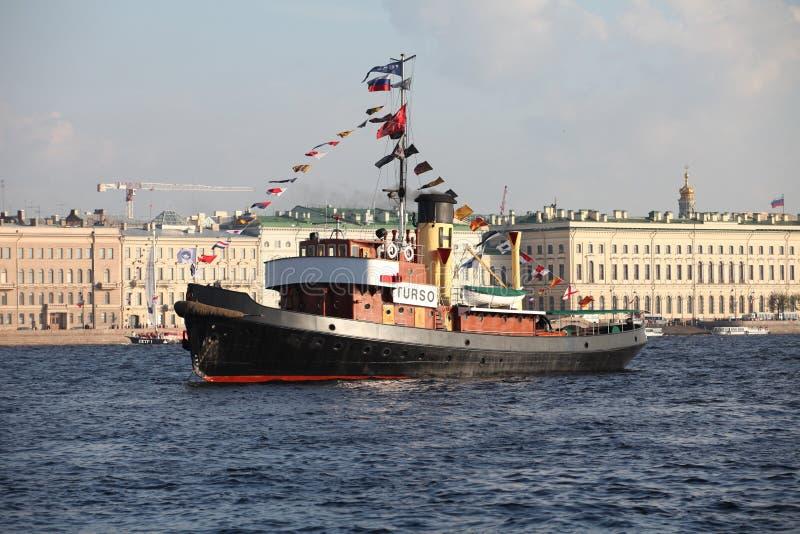 Steamship foto de stock