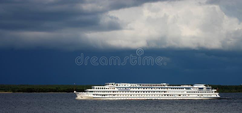 Steamship do passageiro foto de stock