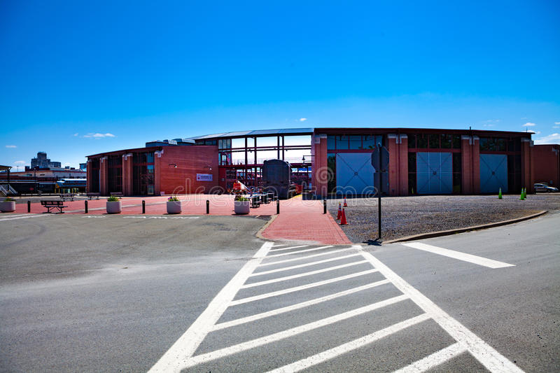 Steamtown National Historic Site Main Building royalty free stock images