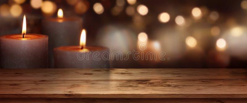Stearinljus ljusbakgrund arkivfoton