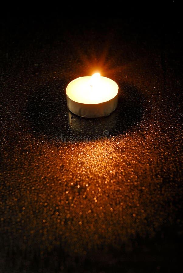 stearinljusdark arkivfoto