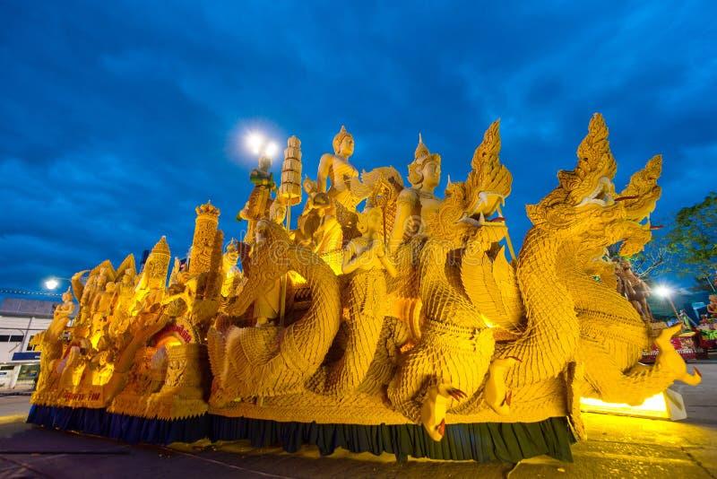 Stearinljusfestival arkivbilder