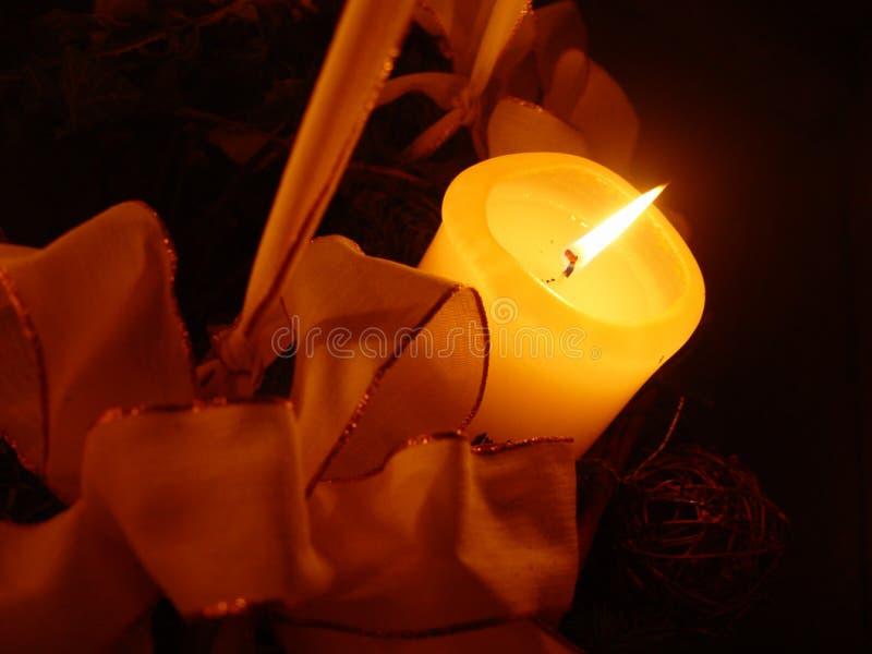 Download Stearinljusjul fotografering för bildbyråer. Bild av ferie - 25939