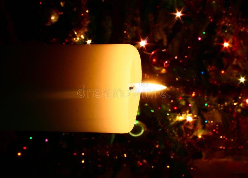 stearinljusjul arkivfoton