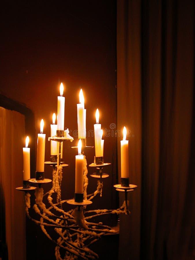 stearinljusstick royaltyfri fotografi