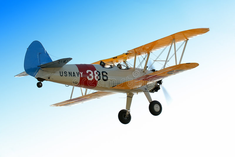 stearman fotografia stock