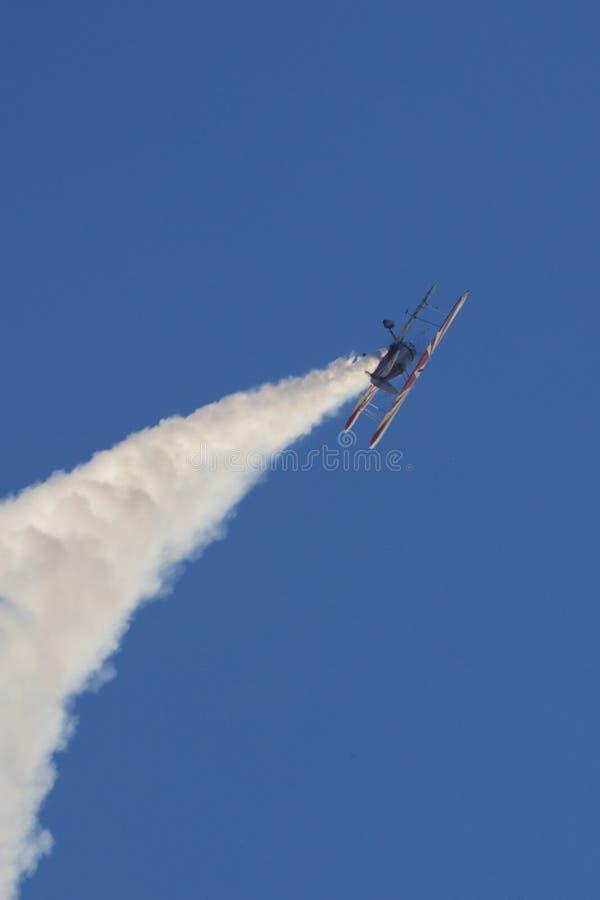 Stearman Aerobatic fotografie stock libere da diritti