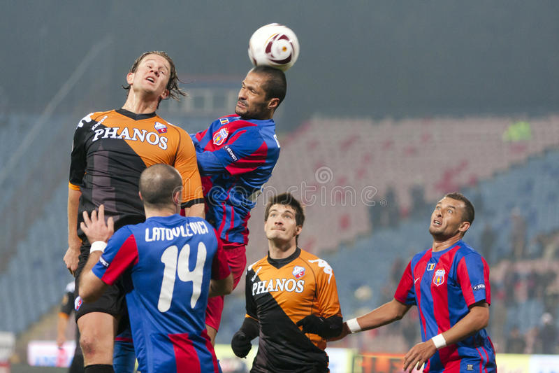 Steaua Βουκουρέστι - Ουτρέχτη (ΈΝΩΣΗ του cEuropa) στοκ φωτογραφία