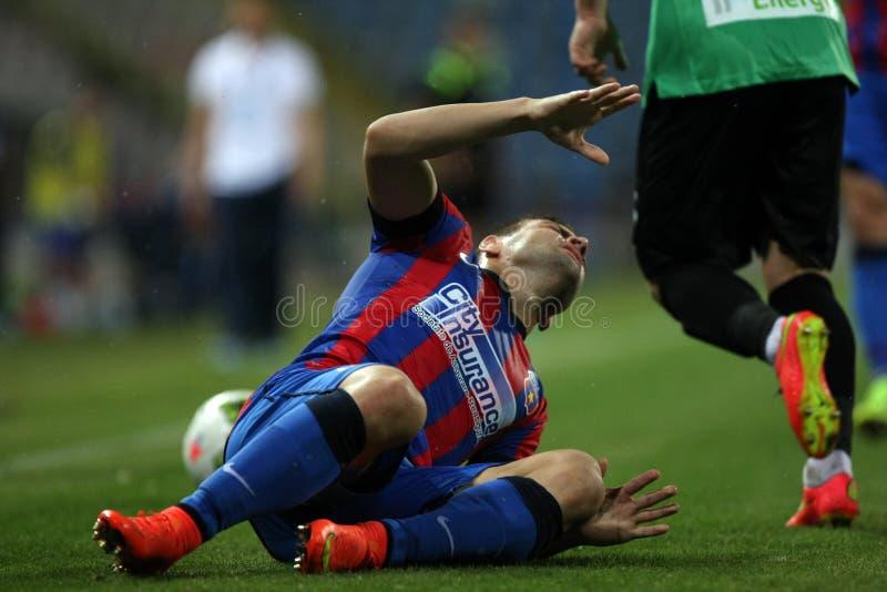Steaua Boekarest CSU Craiova stock afbeeldingen