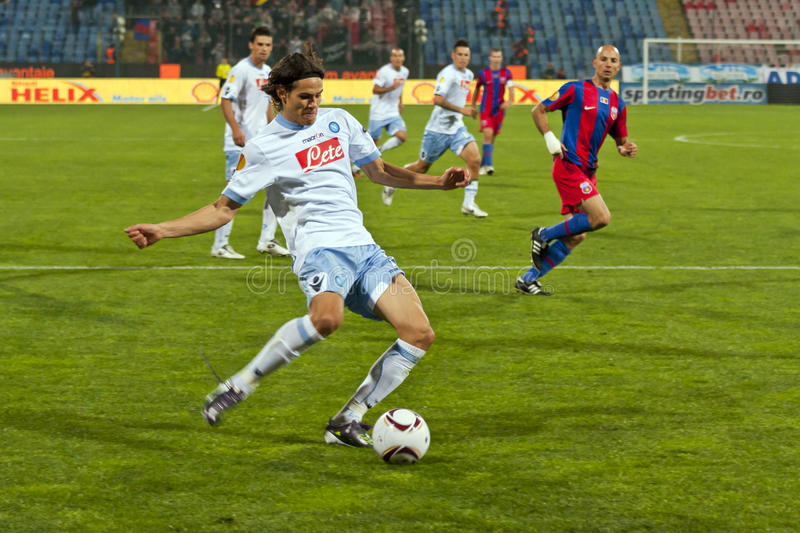 Steaua Bucarest - SSC Napoli photos stock