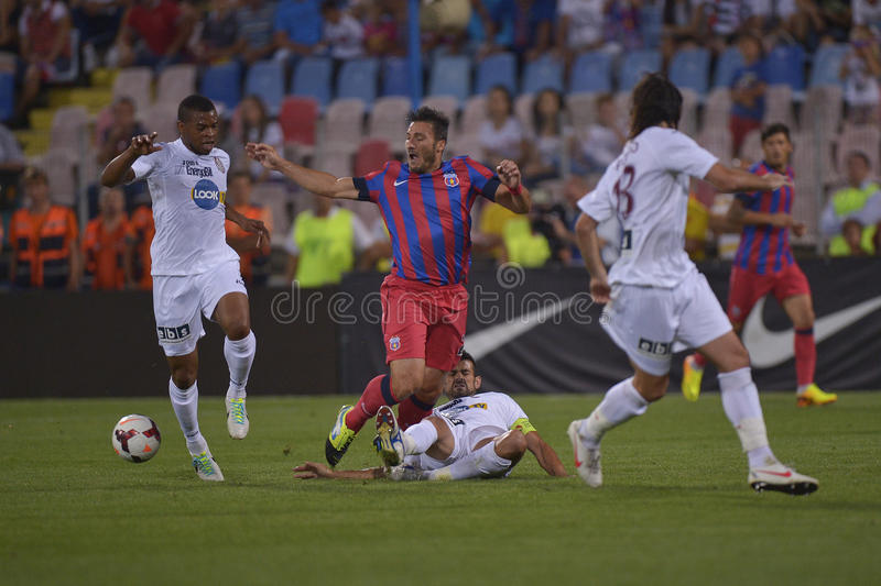 Download Steaua Bucharest - CFR Cluj Editorial Stock Photo - Image: 33015743