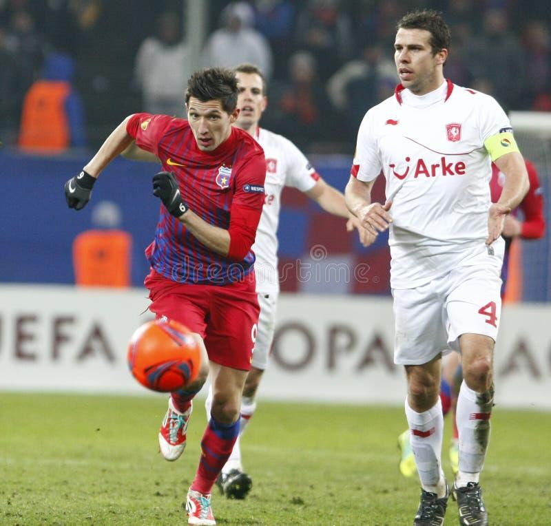 Steaua Bucharest- Twente Editorial Stock Photo