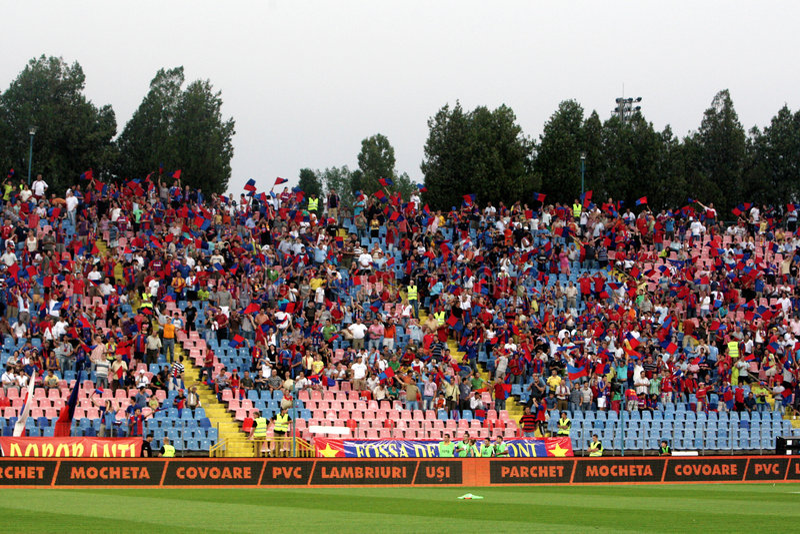 Steaua Verfechter lizenzfreies stockfoto