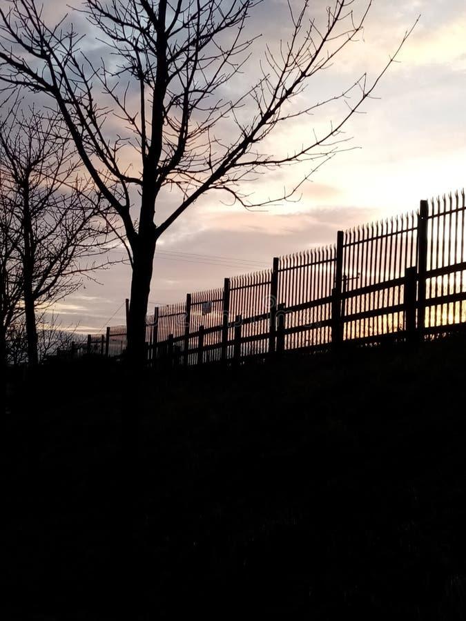 Steccato estetico fotografia stock libera da diritti