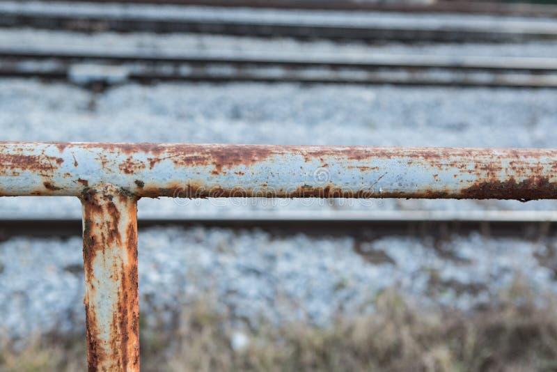 Steccato per i treni immagine stock