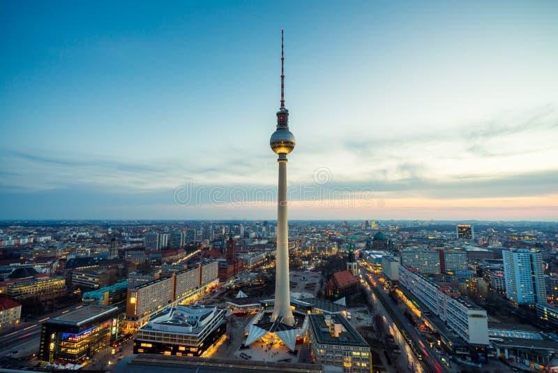 Stedelijk Berlijn, Duitsland royalty-vrije stock afbeelding