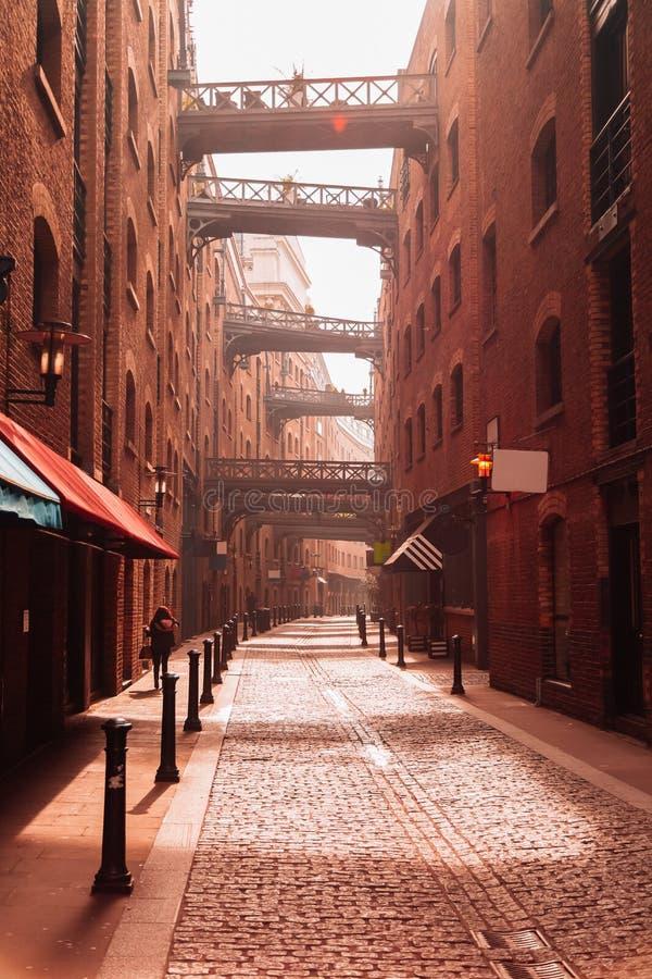 Stedelijk de Gebouwenconcept van de straatmening stock foto