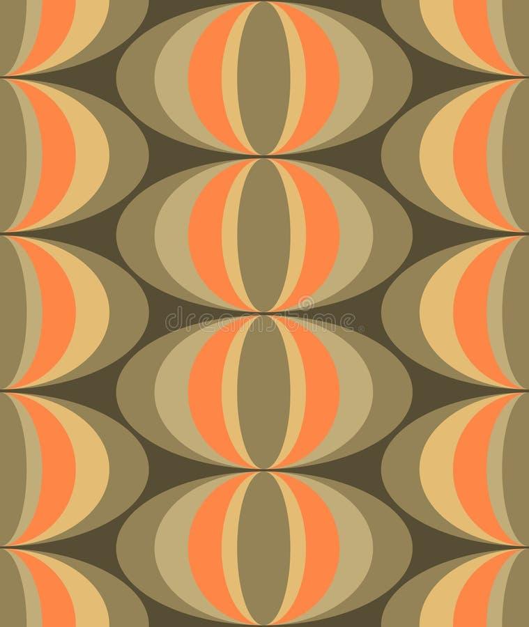 Stedelijk Elegant Naadloos Ontwerp vector illustratie