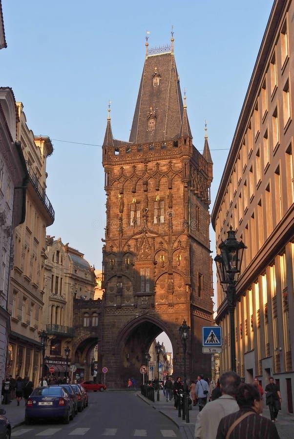 Stedelijk Landschap Praag, Tsjechische Republiek royalty-vrije stock afbeeldingen