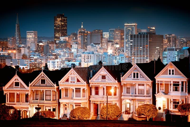 Stedelijk landschap San Francisco royalty-vrije stock fotografie