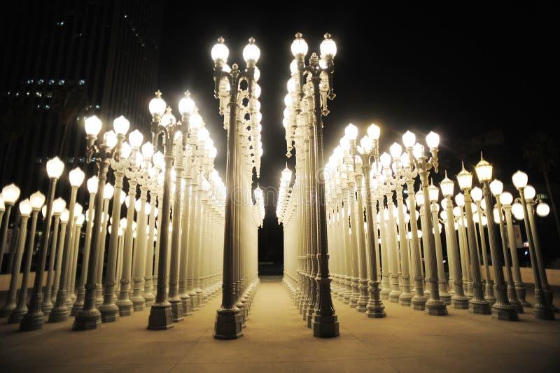 Stedelijk licht royalty-vrije stock afbeelding