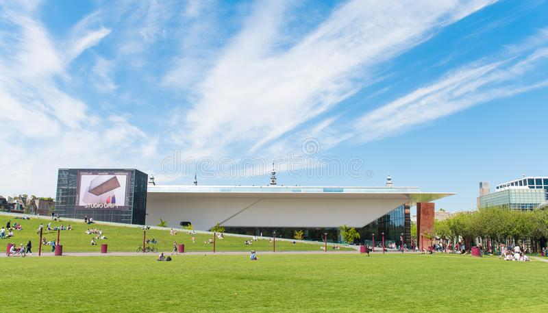 Stedelijk Museum Amsterdam royalty free stock photo