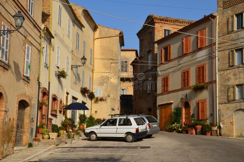 Stedelijke Architectuur De havenstad van Ancona wordt gevestigd langs de oostelijke kusten van de Adriatische kust en is admin, A stock fotografie