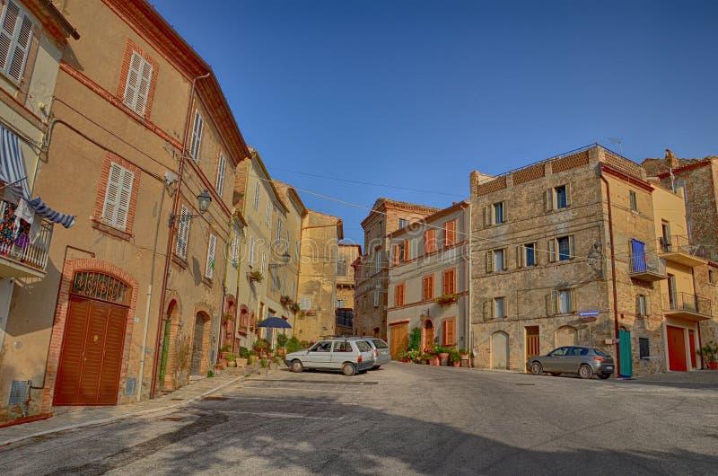 Stedelijke Architectuur De havenstad van Ancona wordt gevestigd langs de oostelijke kusten van de Adriatische kust en is admin, A stock foto's
