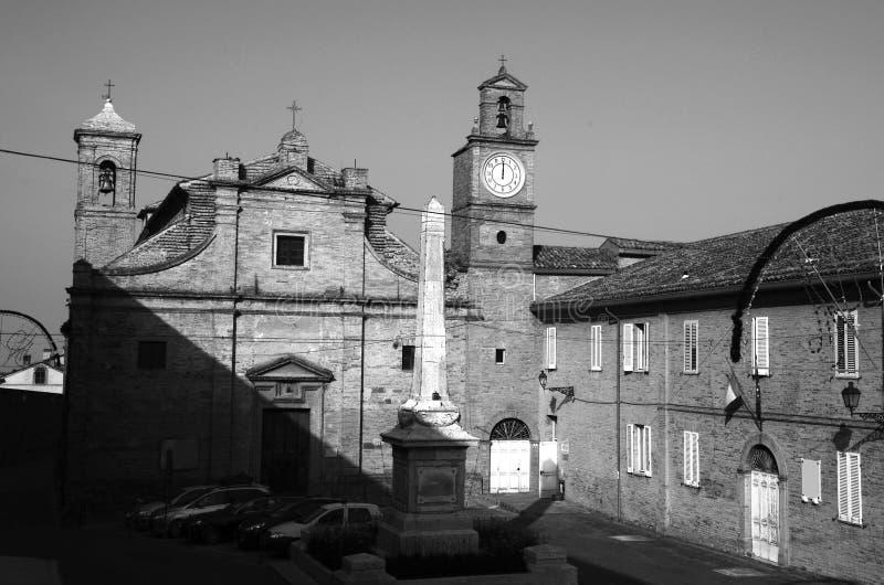 Stedelijke Architectuur De havenstad van Ancona wordt gevestigd langs de oostelijke kusten van de Adriatische kust en is admin, A stock afbeelding
