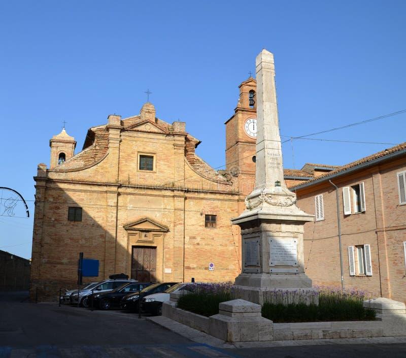 Stedelijke Architectuur De havenstad van Ancona wordt gevestigd langs de oostelijke kusten van de Adriatische kust en is admin, A royalty-vrije stock afbeeldingen