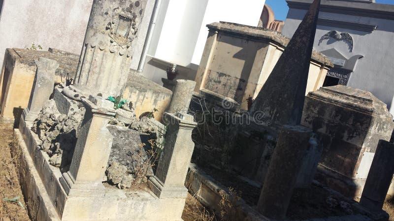 Stedelijke begraafplaats Italië royalty-vrije stock afbeelding