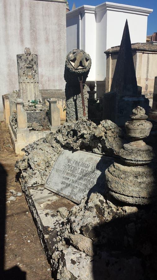 Stedelijke begraafplaats Italië royalty-vrije stock foto's
